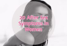 20 After Sex Symptoms Women