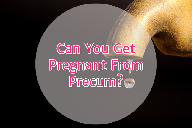 does pre cum have sperm in it