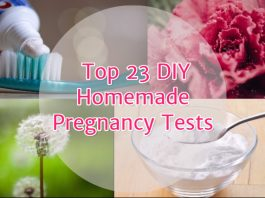 Top 23 DIY Homemade pregnancy tests