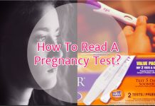 How to read a pregnancy test?
