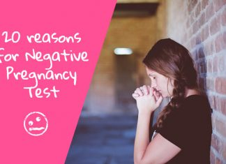 Top 20 reasons for A Negative Pregnancy Test
