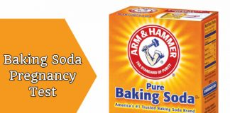 Baking Soda Pregnancy Test