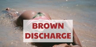 Brown Discharge