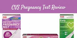 CVS pregnancy test review