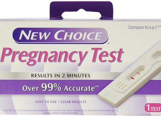 Dollar store pregnancy test