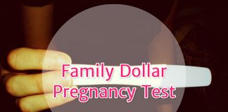 Family Dollar Pregnancy Test