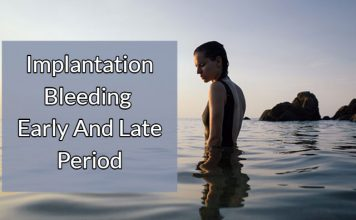 Implantation Bleeding - Early And Late Period