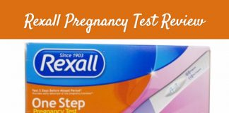 Rexall pregnancy test