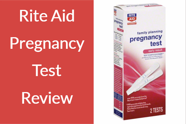 Rite Aid Pregnancy Test