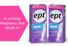 Cheap pregnancy test