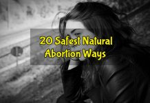 20 Natural Abortion Methods