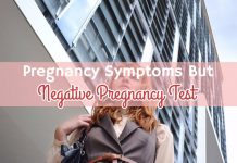 Pregnancy Symptoms But Negative Pregnancy Test?