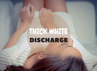 Thick White Discharge