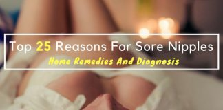 Top 25 Reasons For Sore Nipples - Home Remedies And Diagnosis