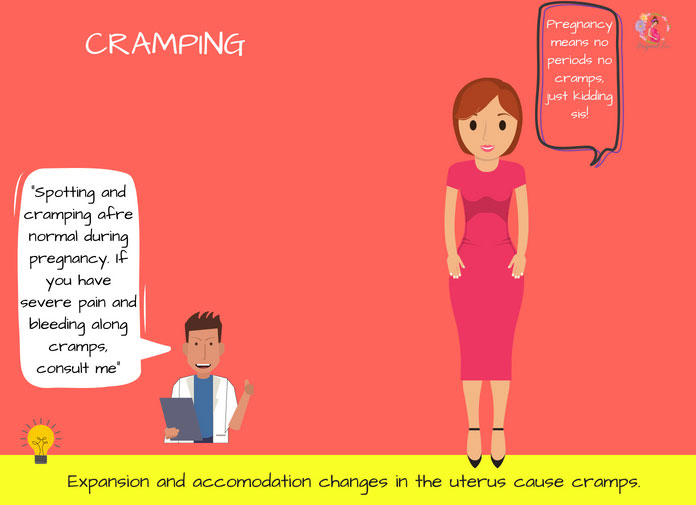 Cramping during pregnancy at 6 weeks
