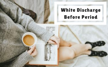 White Discharge Before Period