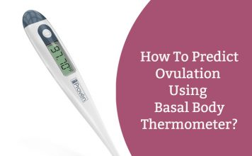 How to predict ovulation by basal body thermometer?