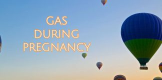 Gas during pregnancy