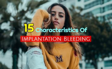 15 Characteristics of Implantation Bleeding