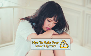 How To Make Your Period Lighter?