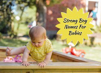 Strong Boy Names For Babies