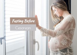 Why do you fast before Caesarean?