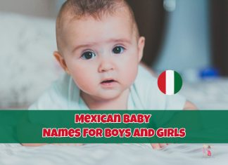 Mexican Baby Names For Boys And Girls