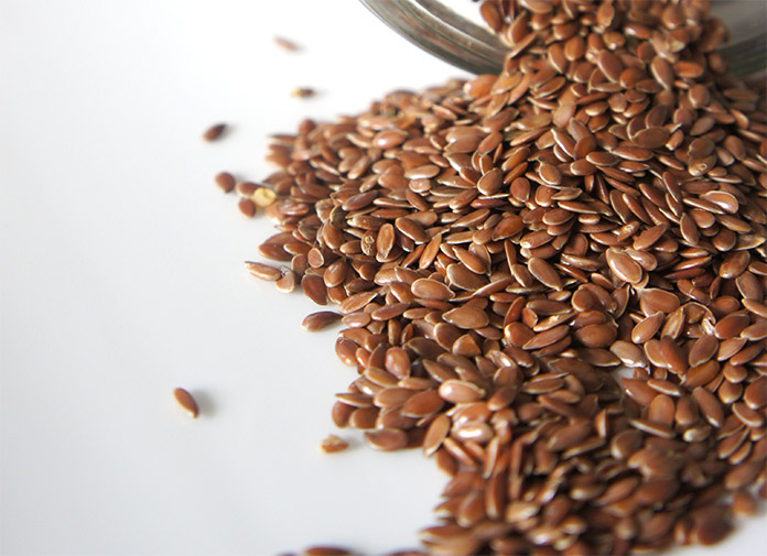 Flax seeds and Chia seeds increase the bulk of the stool and absorb water alleviating constipation